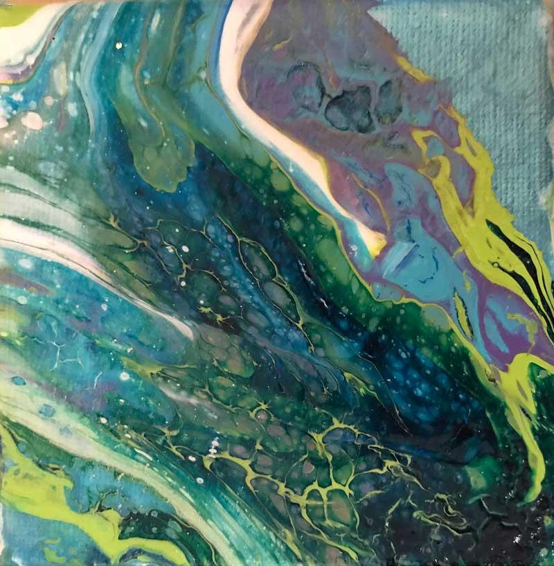 Fluidity – Turquoise